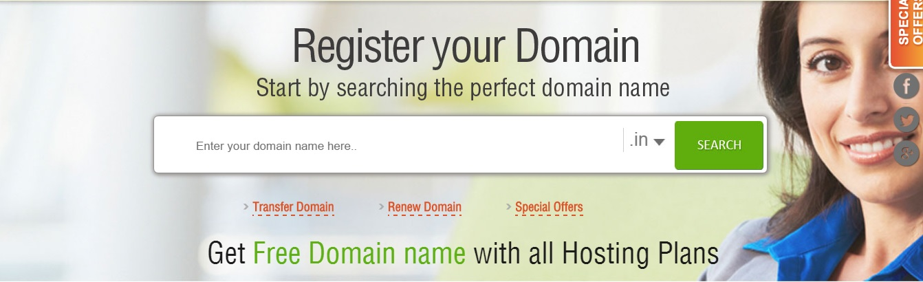 best domain registrar India - Hosting Raja