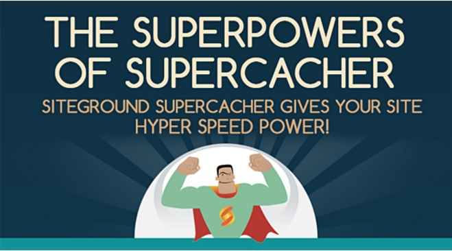 Loading your website faster through supercacher - siteground