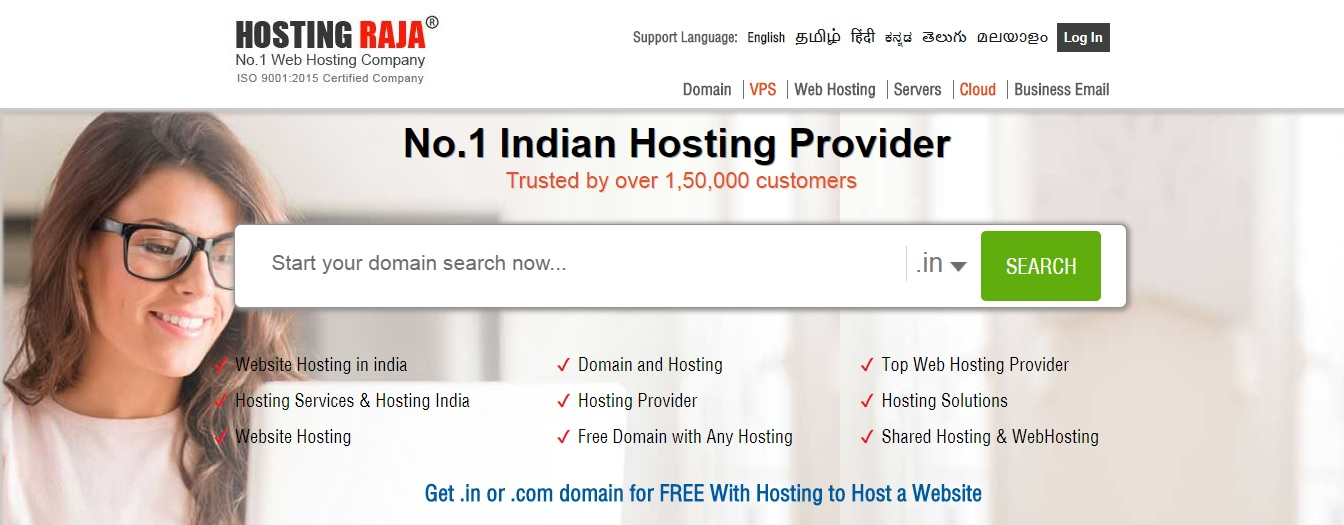 top web hosting companies in india